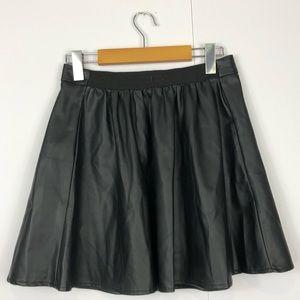3/$30 Garage Faux Leather A-Line Mini Skirt Sz S